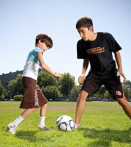 KidSpirit summer camp soccer